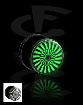 """Tunnel met """"Glow in the Dark""""-design"""