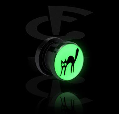 """Tunnel mit """"Glow in the Dark""""-Motiv"""