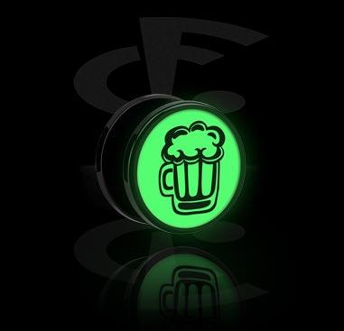 "Túnel com design ""Glow in the Dark"""