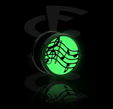 """Tunnel with """"Glow in the Dark"""" design"""