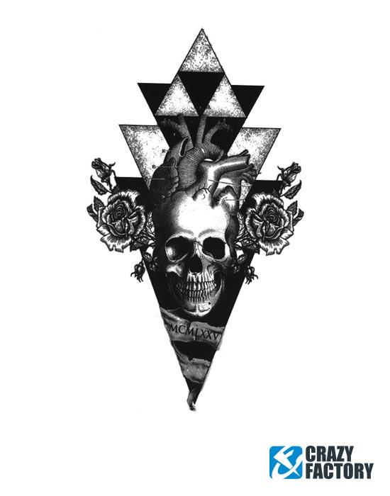 Fun Tattoos, Fun-Tattoo , Vesisiirtopaperi, Muste