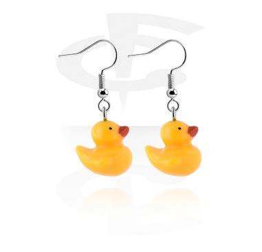 Earrings, Studs & Shields, Earrings, Surgical Steel 316L, Acrylic