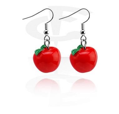 Ohrringe mit Äpfeln