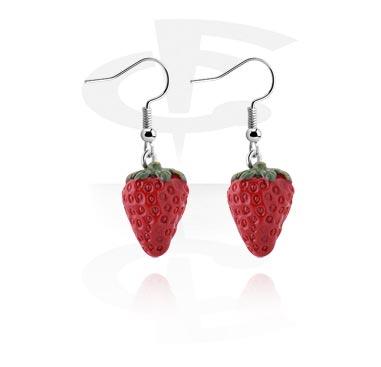 Ohrringe mit Erdbeeren