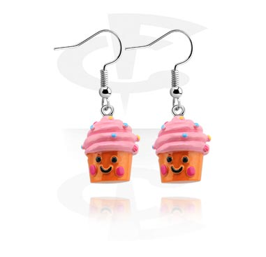 Ohrringe mit Cupcakes