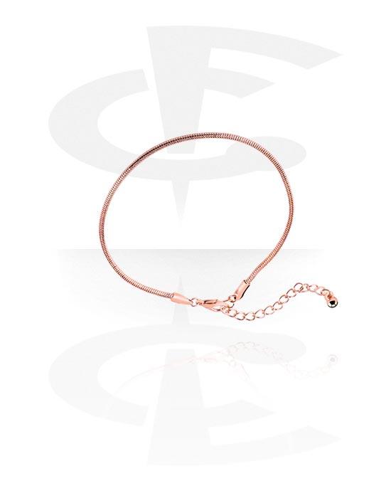 Nilkkakorut, Anklets, Ruusukultapinnoitteinen messinki