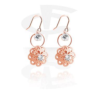 Earrings, Studs & Shields, Earrings, Rosegold Plated Surgical Steel 316L