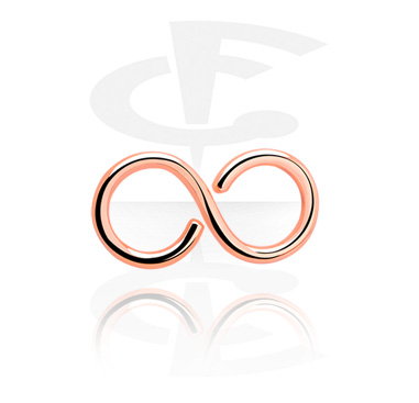 Infinity-shaped Continuous Ring