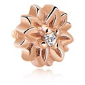 Kuglice i zamjenski nastavci, Jewelled Attachment for Internally Threaded Pins, Rose Gold Plated Steel