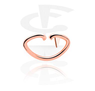 Läppformad Continuous Ring