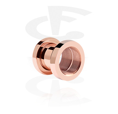 X-Changer Tunnels, X-Changer Tunnel, Rosegold-Plated Steel