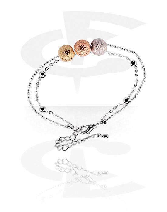 Bransolety, Fashion Bracelet, Powlekany mosiądz