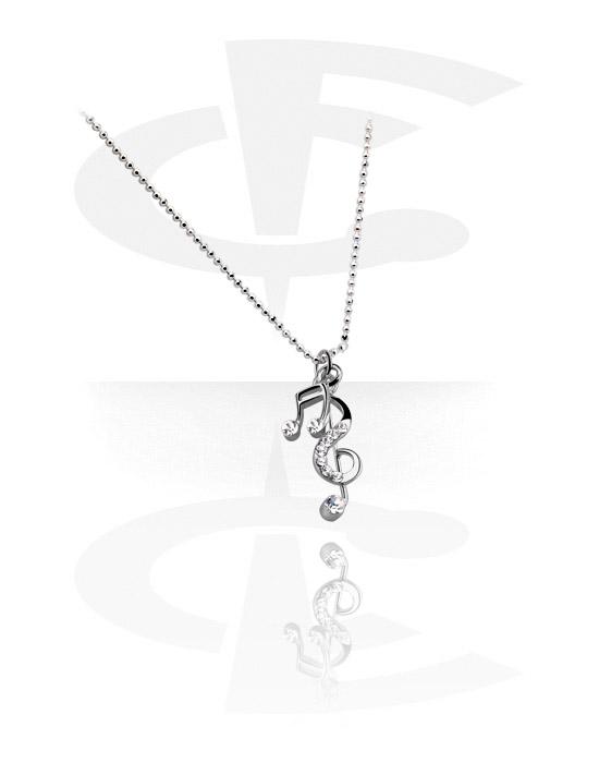 Halsketten, Modische Halskette, Plattiertes Messing
