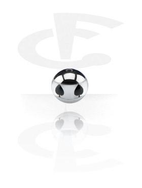 Boules et Accessoires, Contour Picture Ball, Acier chirurgical 316L