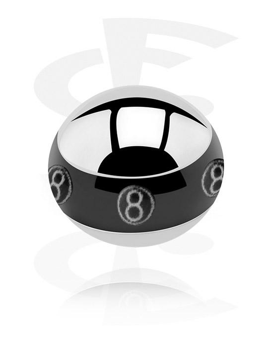 Kuličky, kolíčky a další, Contour Picture Ball, Surgical Steel 316L