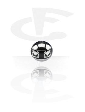 Pallot ja koristeet, Contour Picture Ball, Surgical Steel 316L
