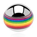 Bolas y Accesorios, Contour Picture Ball, Acero quirúrgico 316L