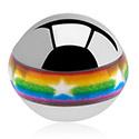 Ballen & Accessoires, Contour Picture Ball, Chirurgisch Staal 316L