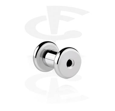 Tunnels & Plugs, Round Tunnel, Surgical Steel 316L