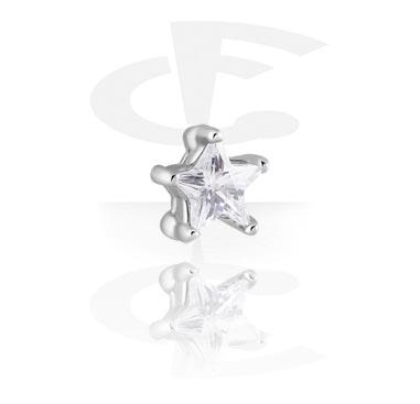 Pallot ja koristeet, Attachment for Ball Closure Ring, Surgical Steel 316L