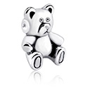 Kuglice i zamjenski nastavci, Attachment for Ball Closure Rings s cute teddy bear design, Surgical Steel 316L