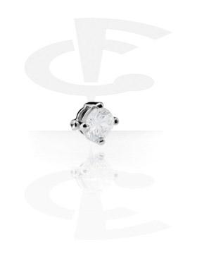 Boules et Accessoires, Attachment pour Ball Closure Ring, Acier chirurgical 316L