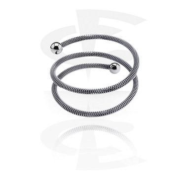 Armband, Modearmring, Kirurgiskt stål 316L