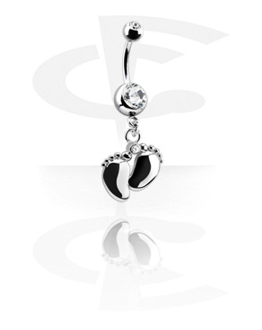 Small Double Jewelled Banana with Charm
