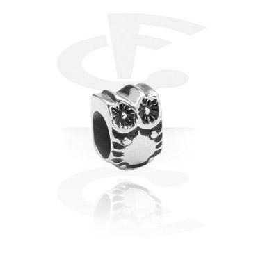 Koraliki, Bead for Bead Bracelets, Surgical Steel 316L