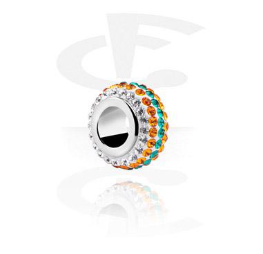 Cuentas, Bead for Bead Bracelets, Acero quirúrgico 316L
