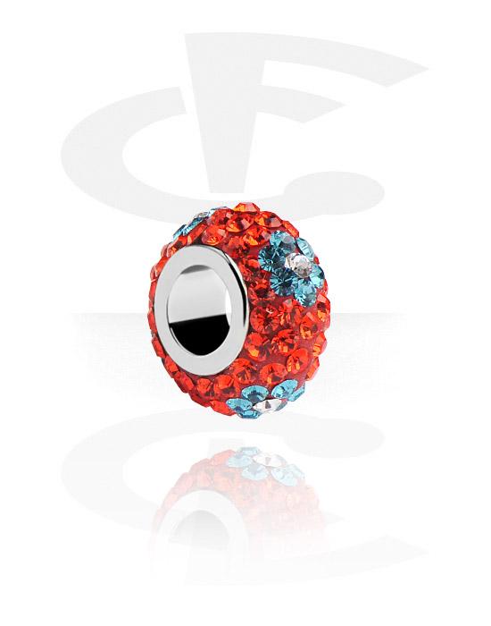 Beads, Bead für Bead-Armbänder, Chirurgenstahl 316L