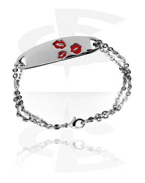 Bracelet en acier fondu