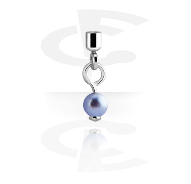 Balls & Replacement Ends, Attachment for 1.2mm Pins with pendant, Surgical Steel 316L