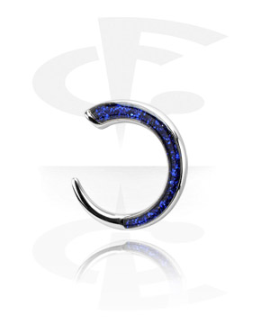 Surgical Steel Cast Glitterline Claw
