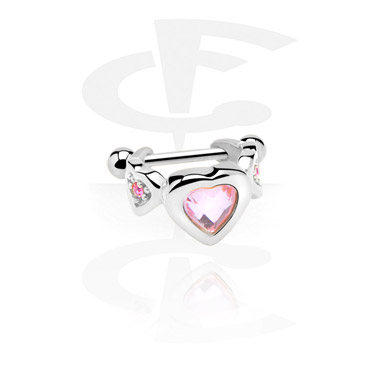 Helix / Tragus, Ear Shield, Surgical Steel 316L