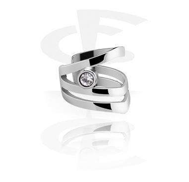 Falešné piercingové šperky, Ear Cuff, Surgical Steel 316L