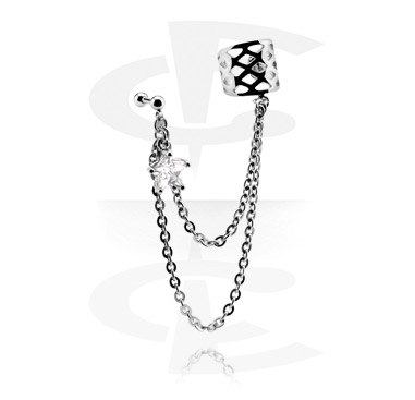 Helix / Tragus, Ear Cuff, Surgical Steel 316L