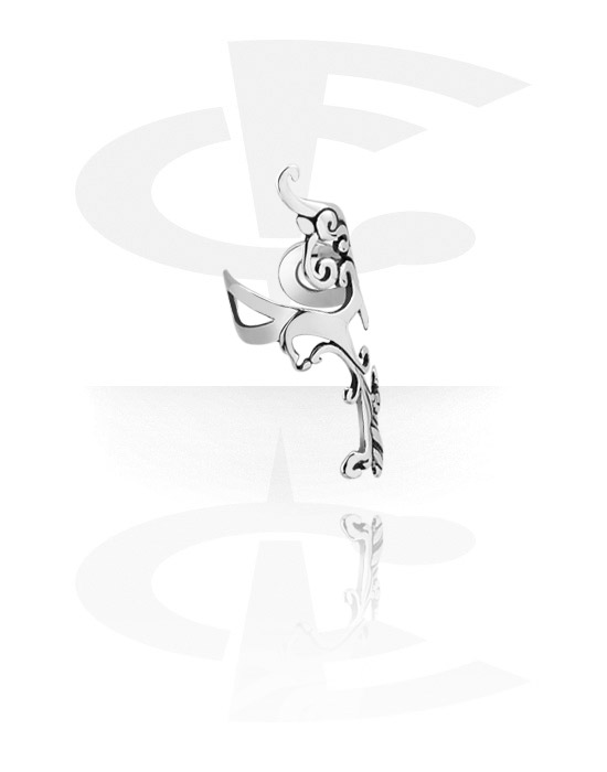 Fake piercings, Earcuff, Chirurgisch staal 316L
