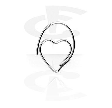 Palline e Accessori, Earring for Tunnel and Tubes, Surgical Steel 316L