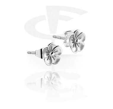 Boucles d'oreillles fleurs