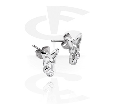 Earrings, Studs & Shields, Ear Studs, Surgical Steel 316L