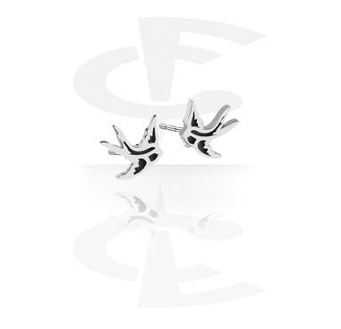 Örhängen med Fåglar