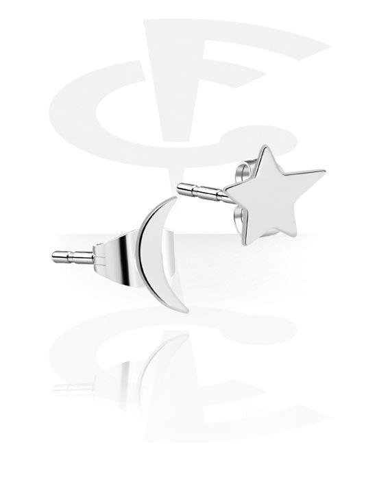 Øredobber, Ear Studs, Surgical Steel 316L
