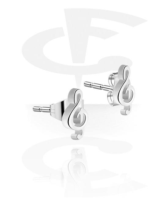 Kolczyki, Ear Studs, Stal chirurgiczna 316L