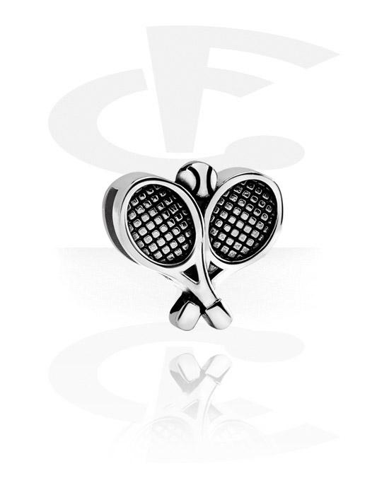 Ploché korálky, Flatbead for Flatbead Bracelets, Chirurgická ocel 316L