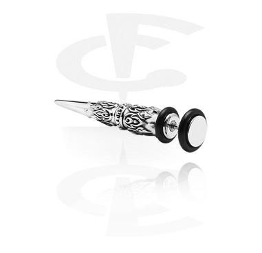 Imitacja biżuterii do piercingu, Fake Expander, Surgical Steel 316L