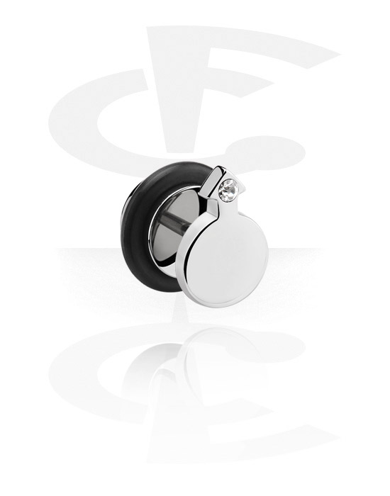Imitacja biżuterii do piercingu, Fake Plug