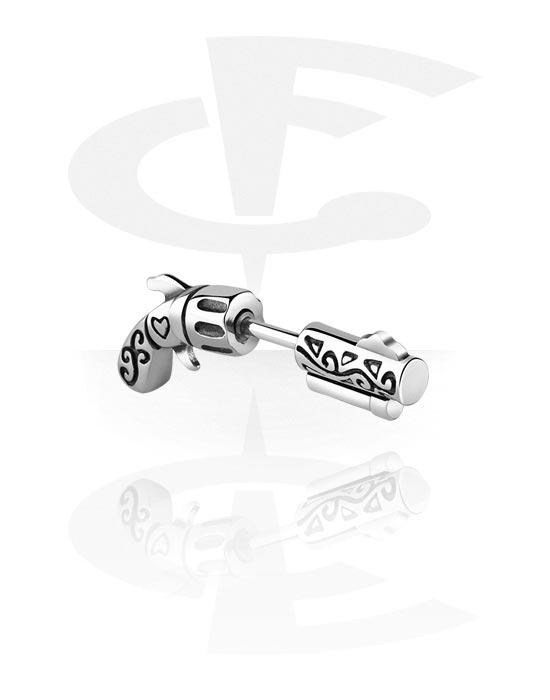 Lažni piercing nakit, Fake plug, Kirurški čelik 316L