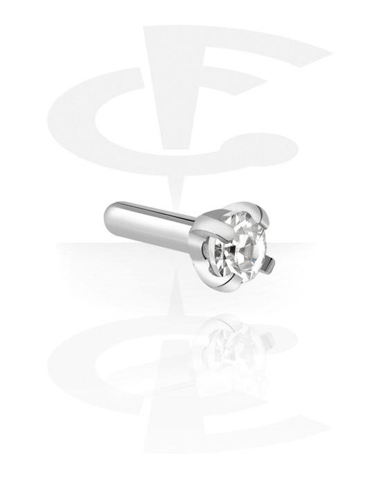 Kuličky, kolíčky a další, Jeweled Attachment for Bioflex Internal Labrets, Surgical Steel 316L