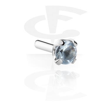Kuglice i zamjenski nastavci, Jeweled Attachment for Bioflex Internal Labrets, Surgical Steel 316L